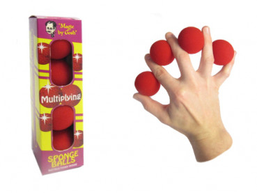 Multiplying Sponge Balls - Schwammbälle 1,5 Zoll - Magic by Gosh