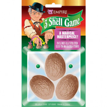 Nussschalenspiel 3 Shell Game