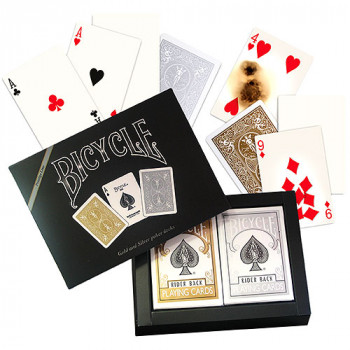 Prestige Bicycle Decks und Gaff Cards Set - Pokerkarten