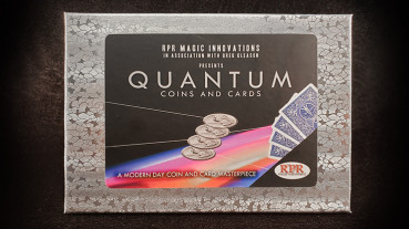 Quantum Coins (Euro 50 cent Red Card) by Greg Gleason and RPR Magic Innovations