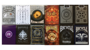 Rare Decks 5 - Collectable Playing Cards pro Pokerdeck - Limited Playing Cards - Sammlerstücke - Out of Print