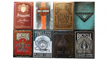 Rare Decks 4 - Collectable Playing Cards pro Pokerdeck - Limited Playing Cards - Sammlerstücke - Out of Print