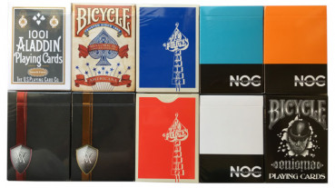 Rare Decks 9 - Collectable Playing Cards pro Pokerdeck - Limited Playing Cards - Sammlerstücke - Out of Print