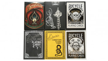 Rare Decks 24 - Collectable Playing Cards pro Pokerdeck - Limited Playing Cards - Sammlerstücke - Out of Print