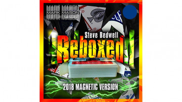 Reboxed 2018 Magnetic Version Blue by Steve Bedwell and Mark Mason