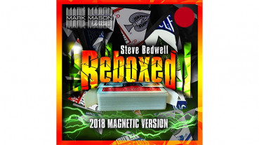 Reboxed 2018 Magnetic Version Red by Steve Bedwell and Mark Mason