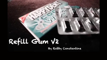 Refill Gum V2 by Robby Constantine - Video - DOWNLOAD
