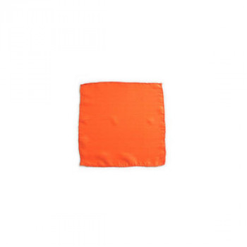 Seidentuch - Orange - 15 cm