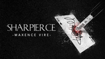 Sharpierce by Maxence Vire and Marchand De Trucs - Sharpie Card Stab Zaubertrick