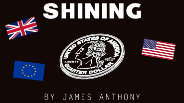 Shining EURO (Gimmicks and Online Instructions) by James Anthony