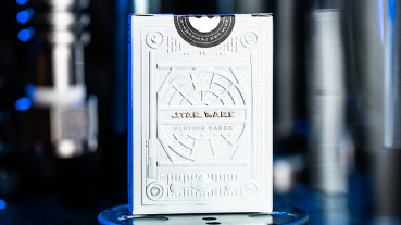 Star Wars Light Side Silver Edition Playing Cards (White) by Theory11 - Pokerdeck