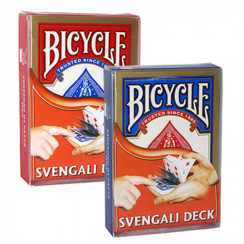 Svengali Deck Bicycle by Di Fatta - Blau - Zaubertrick