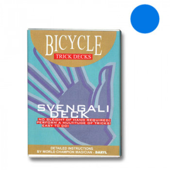 Svengali Deck Bicycle - Blau - Zaubertrick