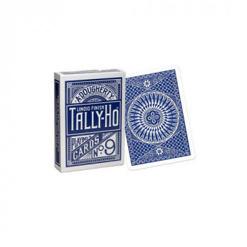 Tally Ho - Circle Back - Blau - Pokerkarten