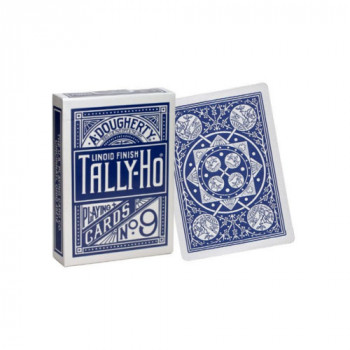 Tally Ho - Fan Back - Blau - Pokerkarten