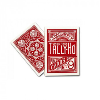 Tally Ho - Fan Back - Rot - Pokerkarten