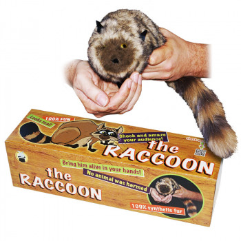 The Raccoon - 100% Synthetic Fur - Spring Animal