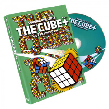 The Rubiks Cube PLUS by Takamitsu Usui - Gimmicks und DVD - Zaubertrick
