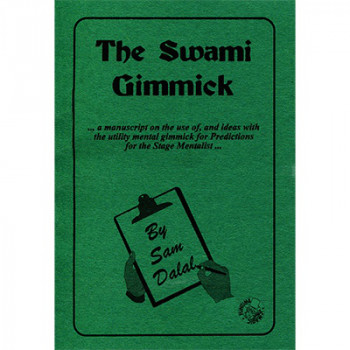 The Swami Gimmick - 4 Gimmicks, Lead and Book
