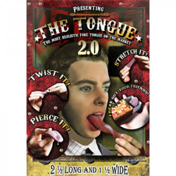 The Tongue 2.0 - Latex Zunge