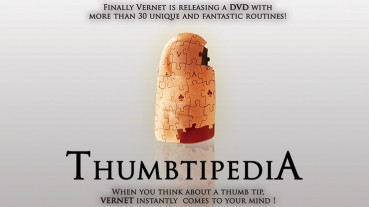 Thumbtipedia (DVD and Gimmick) by Vernet - Daumenspitzen Tutorial