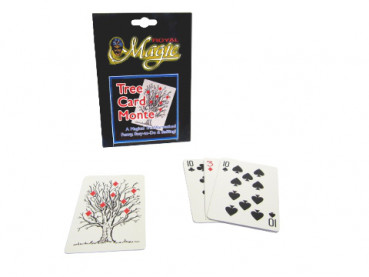Tree Card Monte - Royal