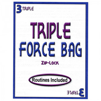 Forciertasche Zip Lock - Triple Force Bag - Forcing Bag