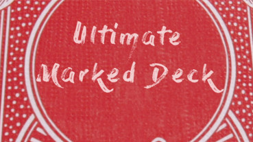 Ultimate Marked Deck - Rot - Markierte Karten - Bicycle Kartentrick