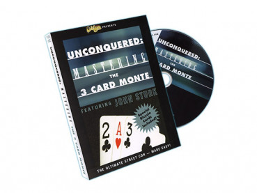 Unconquered Mastering the 3 Card Monte DVD