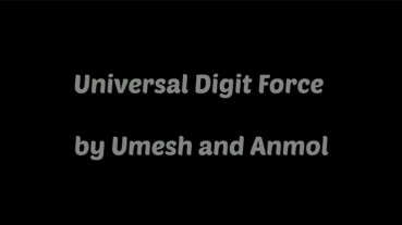 Universal Digital Force by Umesh - Video - DOWNLOAD