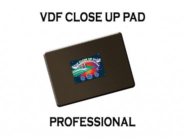 VDF Close Up Pad Professional - Schwarz - Closeup Matte