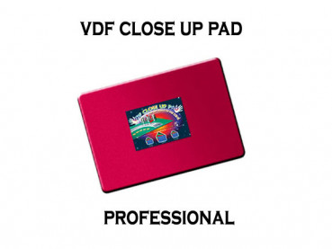 VDF Close Up Pad Professional - Rot - Closeup Matte