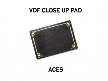 VDF Close Up Pad Standard mit Assen - Schwarz - Closeup Matte