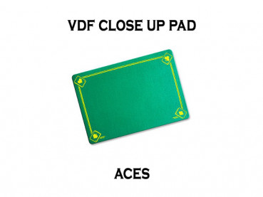 VDF Close Up Pad Standard mit Assen - Grün - Closeup Matte