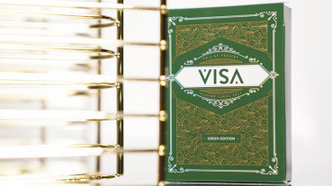 Visa Playing Cards (Grün) by Patrick Kun and Alex Pandrea