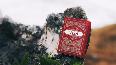 Visa Playing Cards (Rot) by Patrick Kun and Alex Pandrea