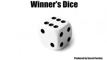 Winners Dice by Secret Factory - Mentaltrick