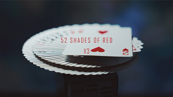 52 Shades of Red Version 3 by Shin Lim - Kartentrick