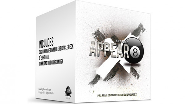Appear-8 (Gimmicks und Online Anleitung) by Steve Rowe - Zaubertrick