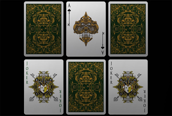 Bicycle Spirit II Green - Pokerdeck