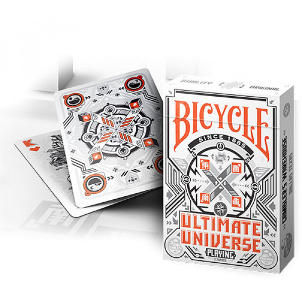 Bicycle Ultimate Universe White - Pokerdeck