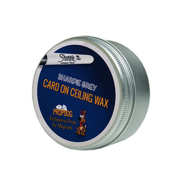 Card on Ceiling Wax by David Bonsall 30g - Sharpie Grau
