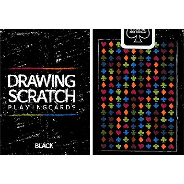 Drawing Scratch - Bicycle Pokerdeck