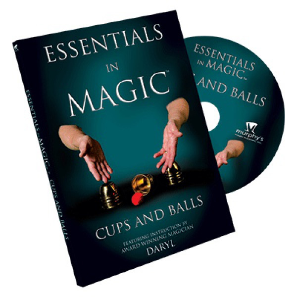 Essentials in Magic Cups and Balls - DVD - Zaubertricks mit dem Becherspiel