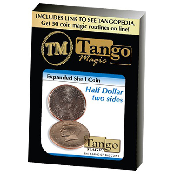 Expanded Shell Two Sides - Half Dollar - Tango