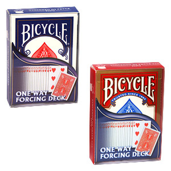 Force Deck - Assorted - Rot - Bicycle Forcierspiel - Forcing Cards - Forcierkarten
