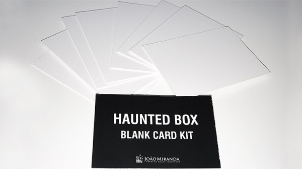 Haunted Box Blank Card Kit Refill by João Miranda - Nachfüllpackung
