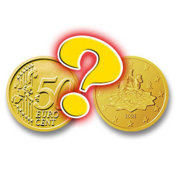 Head Or Tail Gezinkte 50 Cent Münze Kopf Oder Zahl Zaubertrick