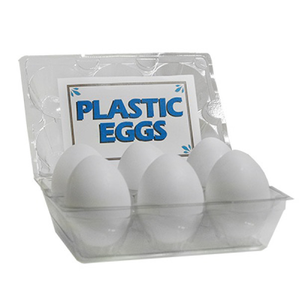 High Quality Plastic Eggs - 6er Packung - Kunststoffeier