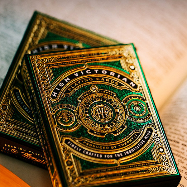 High Victorian Playing Cards - Pokerdeck